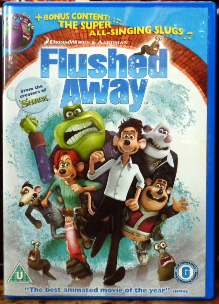 Movies On Dvd And Blu Ray Flushed Away 2006