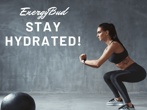 EnergyBud Personal Daily Water Bottle With Motivation and Positive Reinforcement