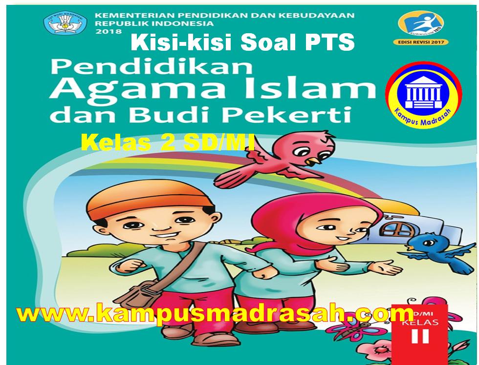 Kisi-kisi Soal PTS PAI Dan BP Kelas 2 SD