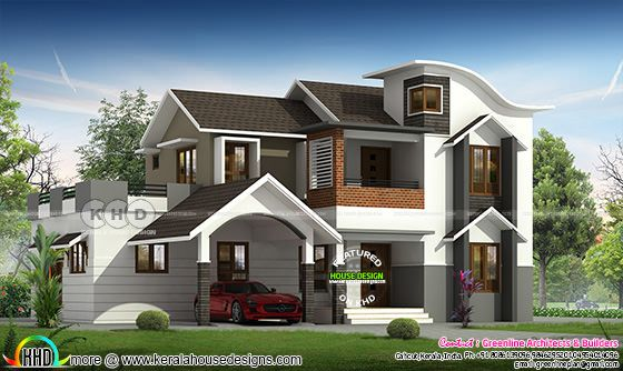2601 square feet 4 bedroom contemporary house