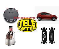"""Logo Concorso Telesette """"Il supercruciverba 2020"""": vinci Dacia Sandero e non solo!"""