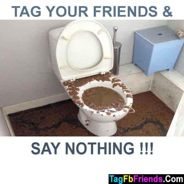 Shitty toilet full of mud