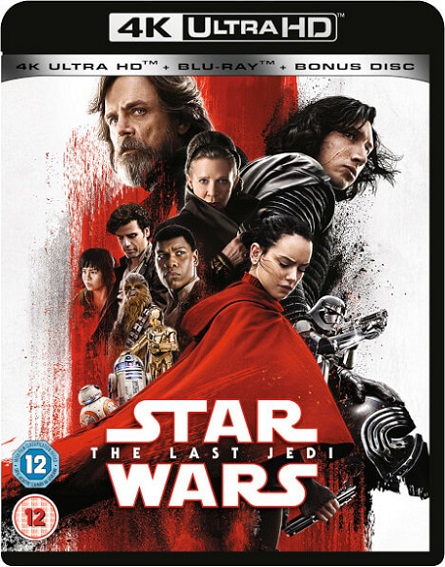 Star Wars: Episode VIII The Last Jedi 4K (Star Wars: Episodio VIII Los últimos Jedi 4K) (2017) 2160p 4K UltraHD HDR BluRay REMUX 60GB mkv Dual Audio Dolby TrueHD ATMOS 7.1 ch