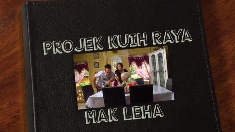 Sinopsis Telemovie Projek Kuih Raya Mak Leha