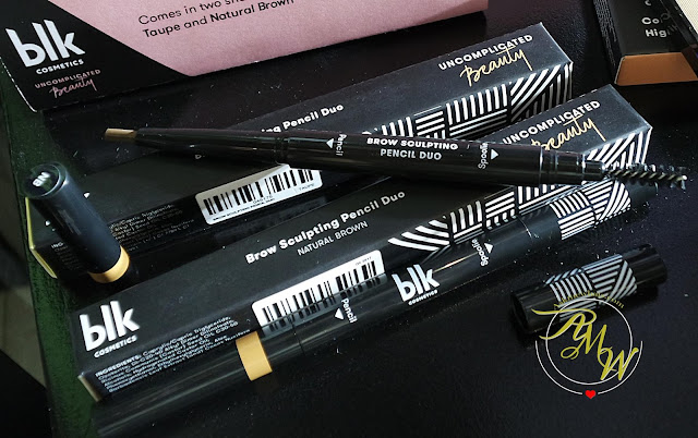 a photo of BLK Cosmetics Brow Sculpting Pencil Duo