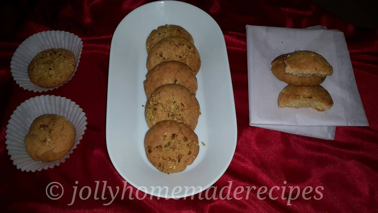 Eggless Indian Shortbread Cookie