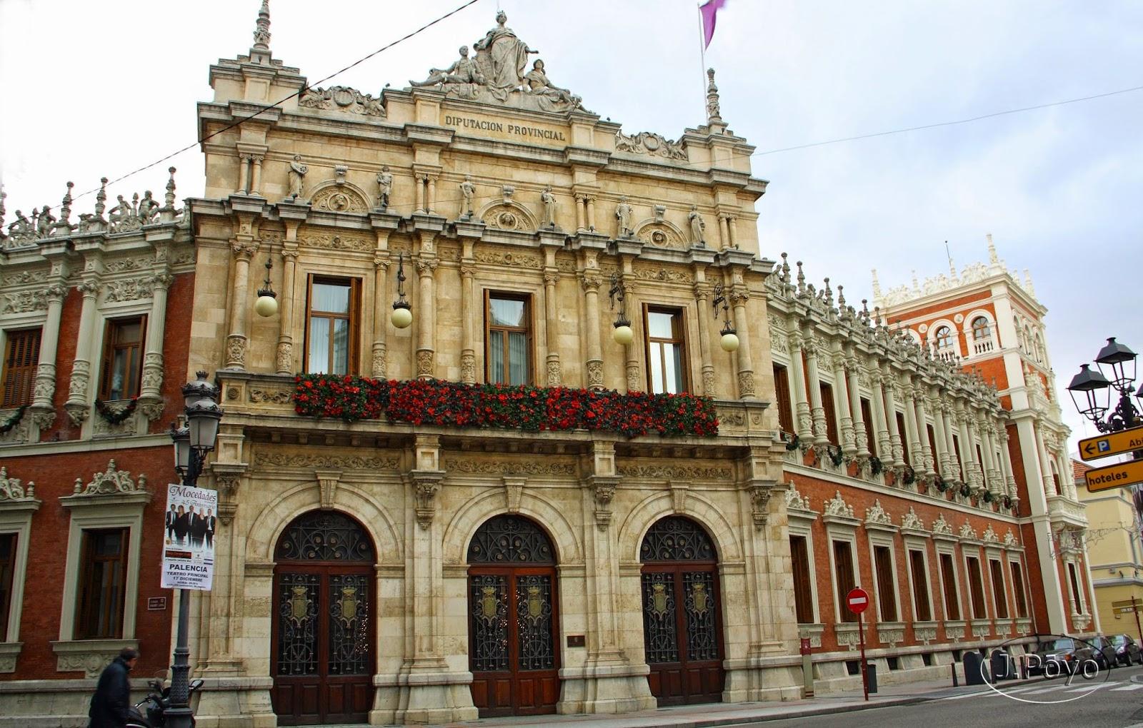 Palacio de la diputación de Palencia