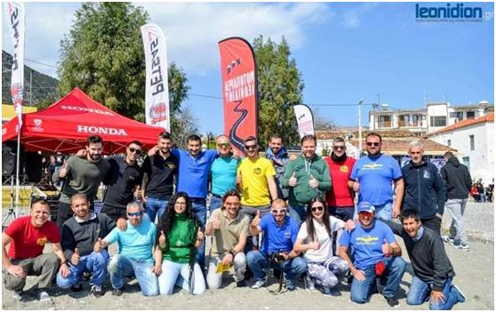 Ο Εκπολιτιστικός Σύλλογος Αχλαδοκάμπου υποδέχεται την μοτοπαρέα Λεωνιδίου