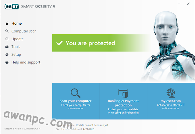Download Eset Smart Security Versi terbaru full Final Offline 9.0.386 Awanpc