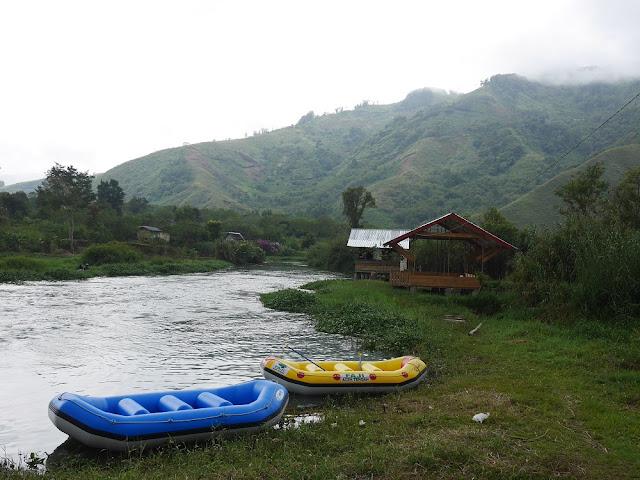 Sungai Peusangan di Takengon
