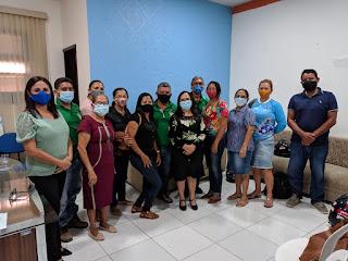 Diálogo: Prefeita de Chapadinha-MA, Ducilene Belezinha realiza reunião com Agentes Comunitários de Saúde