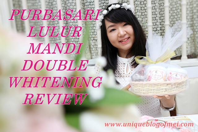 Purbasari Lulur Mandi Double Whitening Review