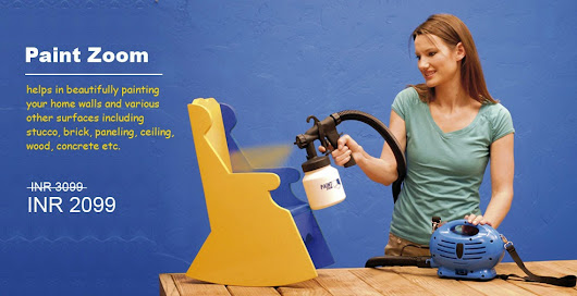Paint Zoom India - Fantastic Painting Spray Device
