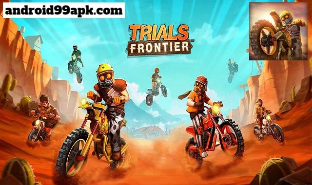 لعبة Trials Frontier v7.9.1 مهكرة بحجم 86 ميجابايت للأندرويد