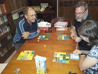 Scoring a game of Kingdominoes
