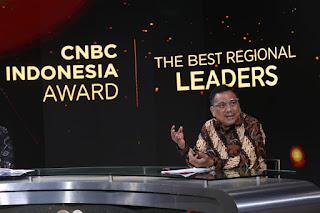 Gubernur Sulut Olly Dondokambey Terima Penghargaan Dari CNBC Indonesia. OD : Penghargaan Ini Untuk Warga Sulut