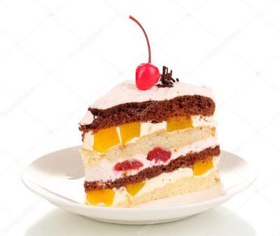 Receta de Pastel de Frutas en Capas