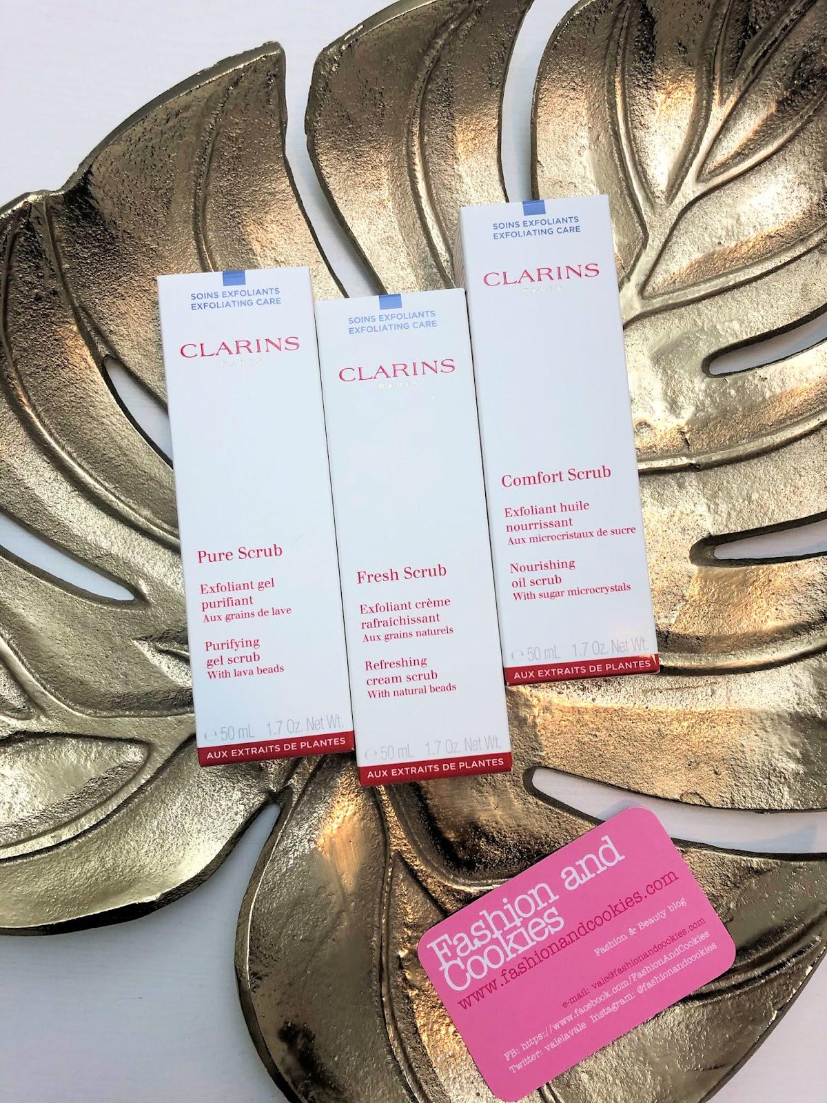 Prepararsi per Capodanno: effetto pelle nuova con gli Scrub Clarins su Fashion and Cookies beauty blog
