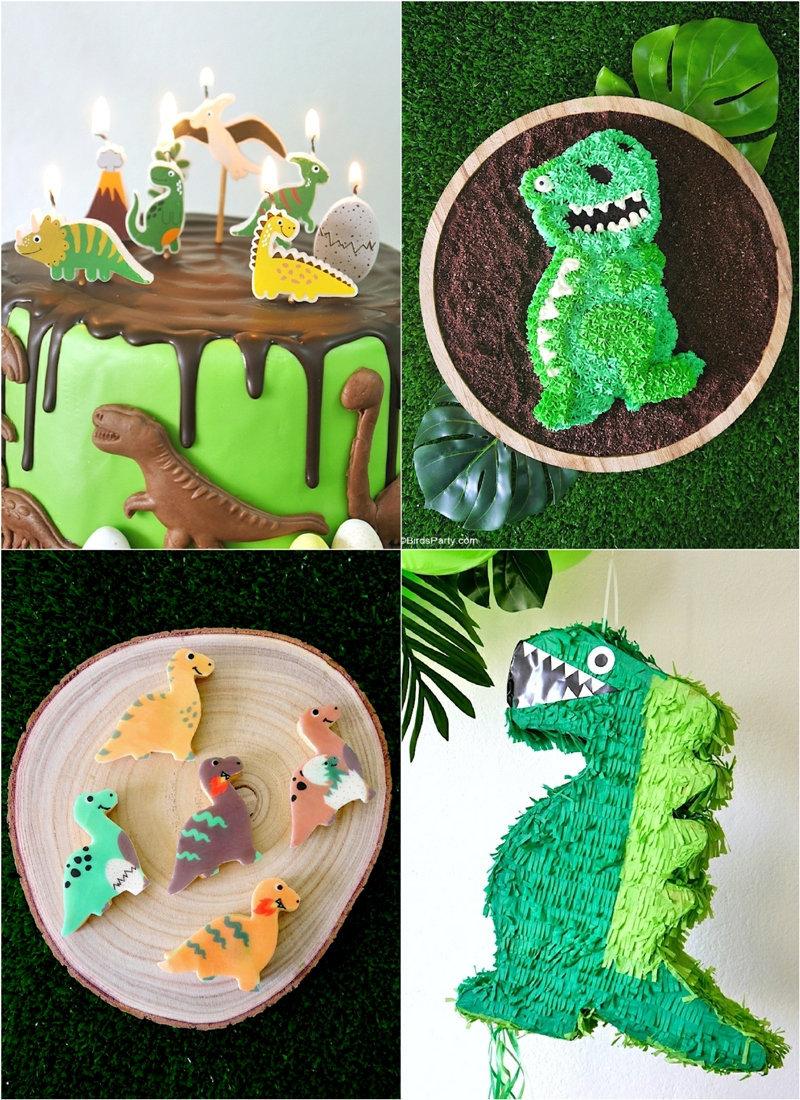Idées et Recettes Faciles de Fête d'Anniversaire Dinosaure