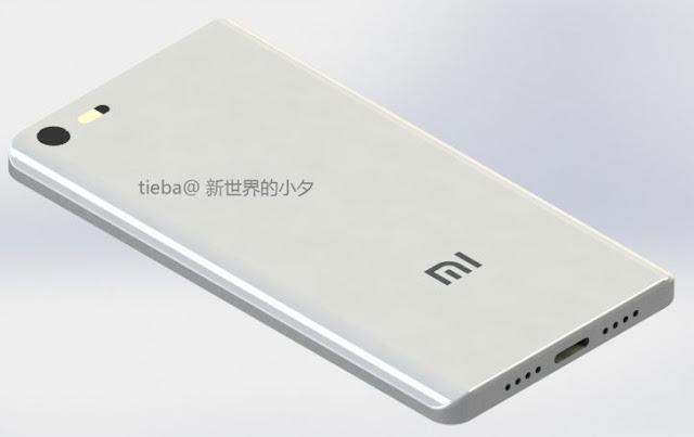 Bagian Belakang Xiaomi Mi 6C