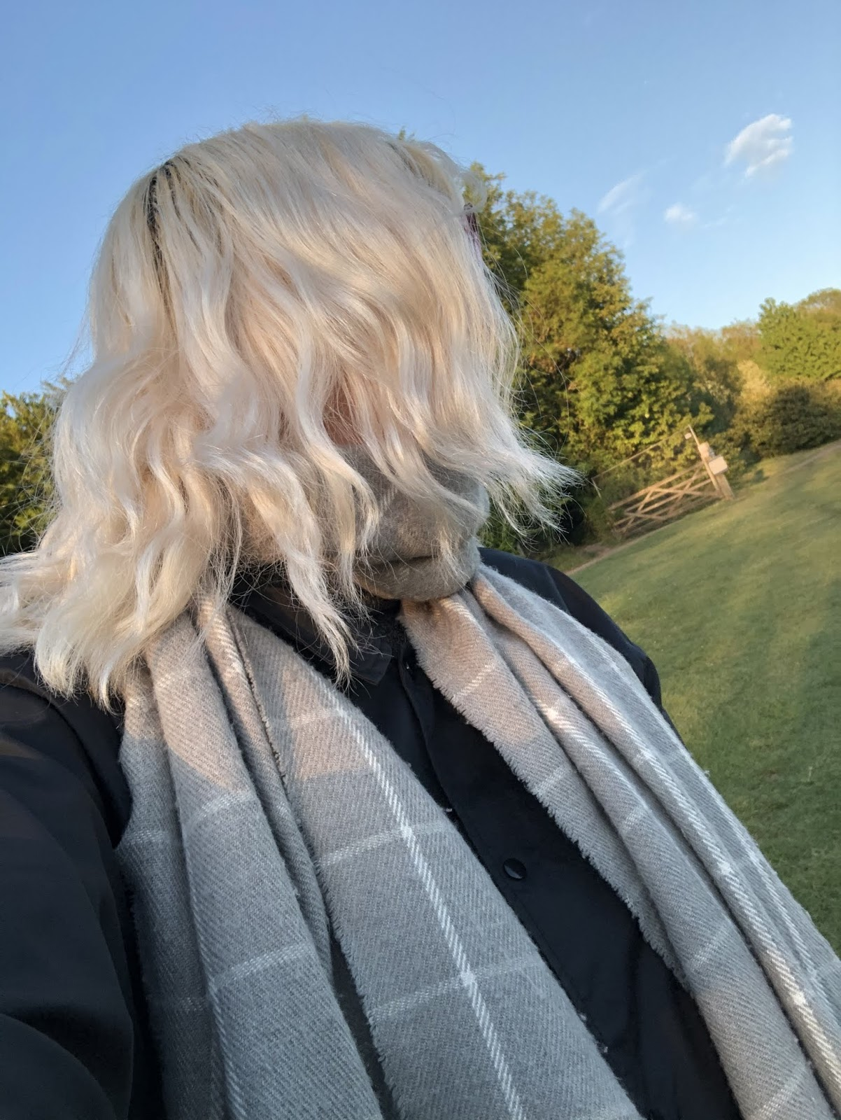 My hair had returned to white after 3 washes