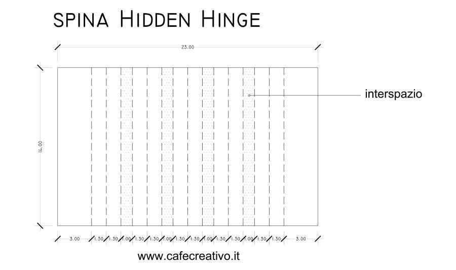 [Scrapbooking] Mini album rilegato con spina a Cerniera Nascosta - Hidden Hinge