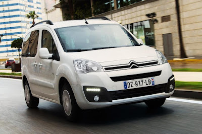 Citroën E-Berlingo Multispace (2018) Front Side