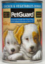 Picture of Petguard Chicken & Vegetables Dinner Canned Puppy Food