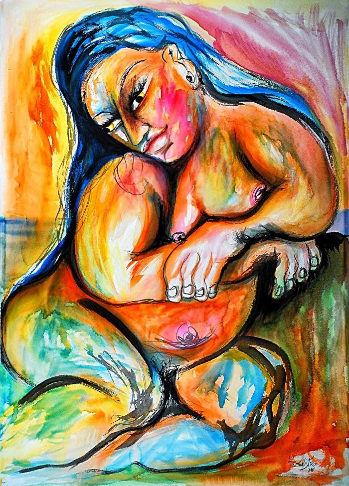 Испанский художник. Raul Canestro