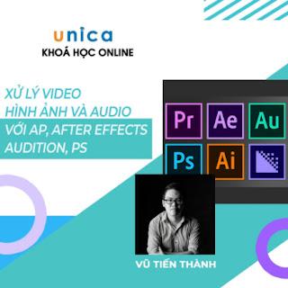 Khóa học trọn đời- Xử lý video, hình ảnh và audio với Adobe Premiere, After Effects, Audition, Photoshop nhuần nhuyễn cùng Giảng viên Vũ Tiến Thành ebook PDF EPUB AWZ3 PRC MOBI