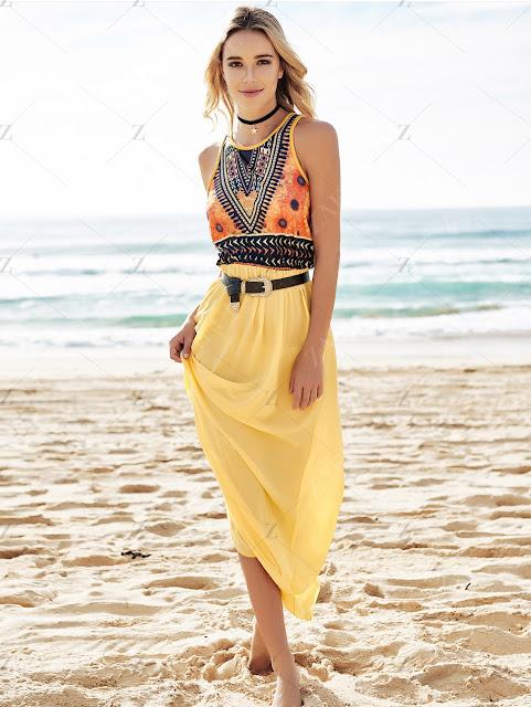 stile boho tendenze estate 2016 come vestire in stile boho cosa è stile boho zaful shopping on line mariafelicia magno fashion blogger color block by felym fashion blog italiani blog di moda