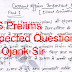 UPSC Prelims 2020 Expected Questions pdf Notes Download by Ojaank Sir