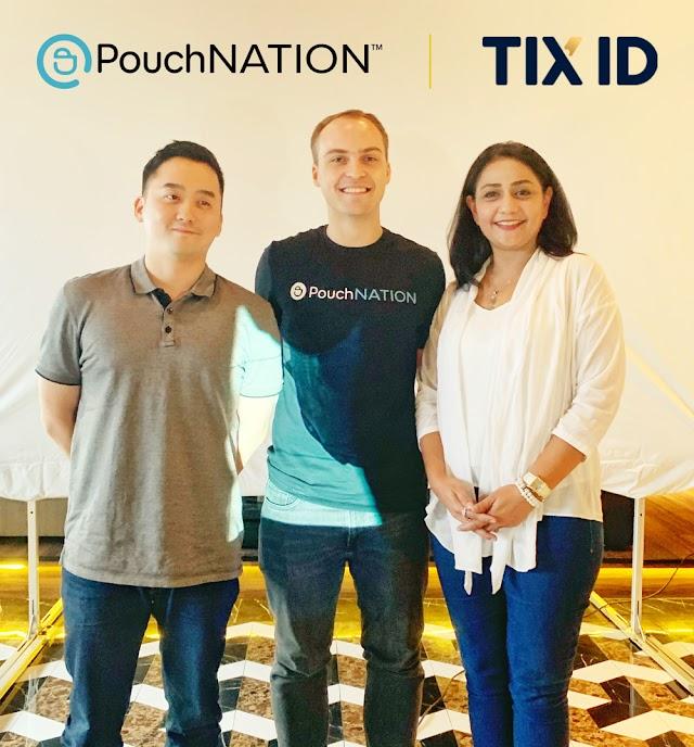 TIX ID, Berpartisipasi dalam putaran pendanaan seri B kepada Pouchnation