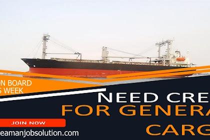 Hiring Bosun For General Cargo Ship