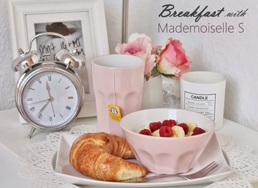 Breakfast with Mademoiselle S a.k.a. Fashion Column: Intro