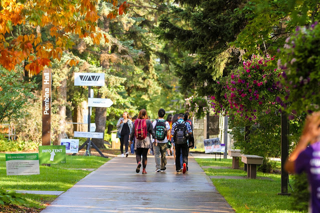 Back to School at the University of Alberta
