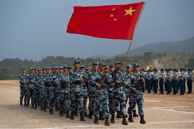 Pentagon says China military 'likely training for strikes' on U.S. targets अमेरिका और उसके सहयोगियों पर चीन के हमलों के लिए प्रशिक्षण '