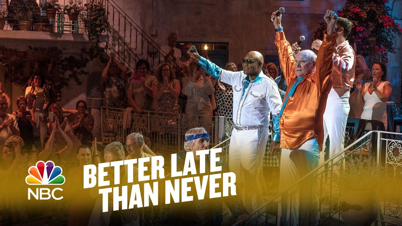 ABBA Moment on 'Better Late Than Never'