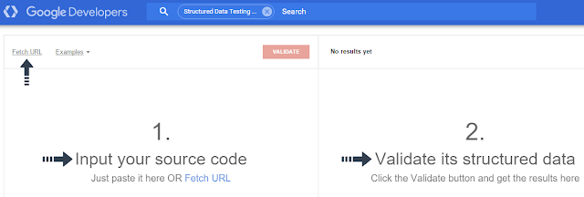 structured data markup testing tools