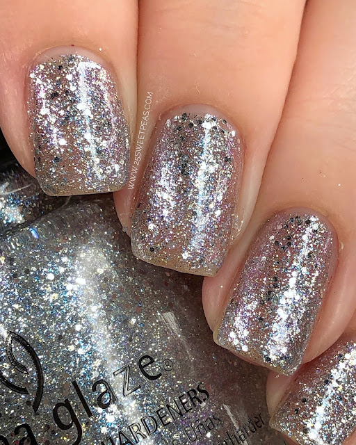 China Glaze T IS FOR TINSEL 25 Sweetpeas