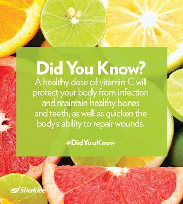 Vitamin C mempunyai pelbagai fungsi untuk tubuh