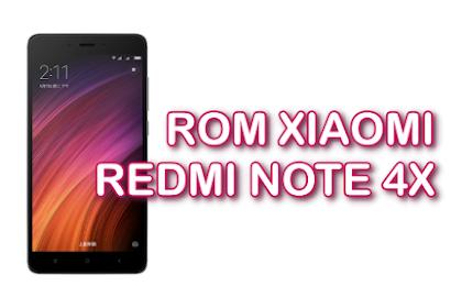 ROM Xiaomi Redmi Note 4X