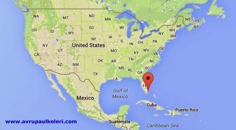 Miami Harita Miami Nerde