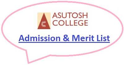 Asutosh College Merit List
