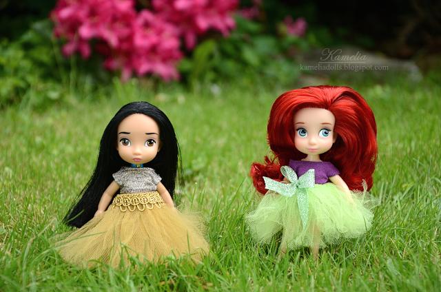 Ariel and Pocahontas