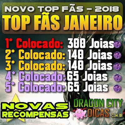 Promoção Top Fãs - Ganhe Joias Grátis!