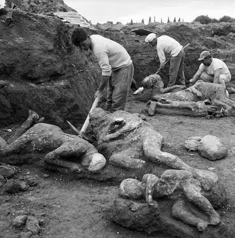 Foto-Foto Adzab Allah Kepada Kaum Pompei