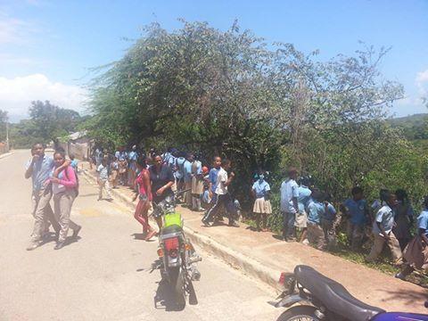 Desaparición de un niño de La Escuela de La Guázara  crea pánico en estudiantes y docentes de ese centro educativo