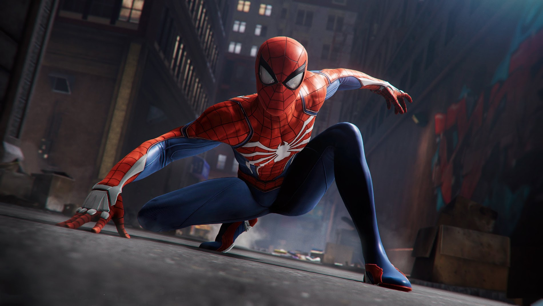 Download Spiderman Wallpaper From The Above Display Resolutions For HD Widescreen 4K UHD 5K 8K Ultra Desktop Monitors Android Apple IPhone Mobiles