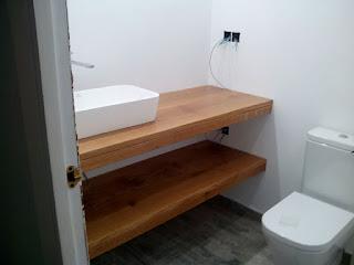 Pieza especial para baño a medida en Zaragoza
